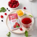 Fruit tea with honey «Raspberry and mint»