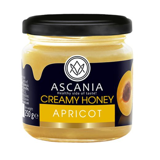 Creamy honey with APRICOT