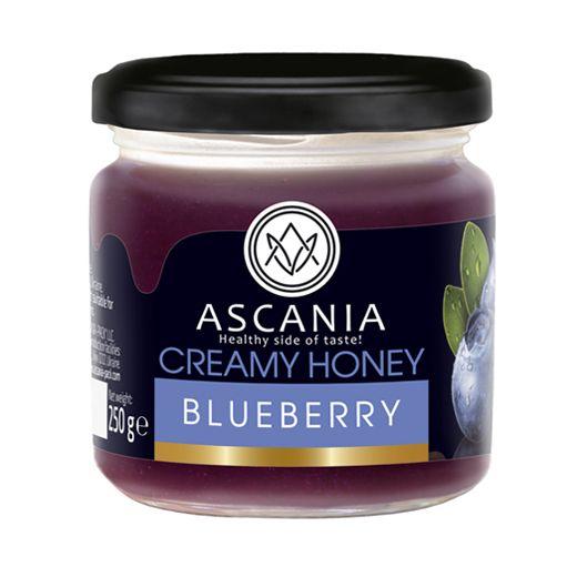 Creamy honey with BLUEBERRY