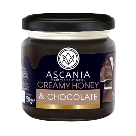 Creamy honey with CHOCOLATE