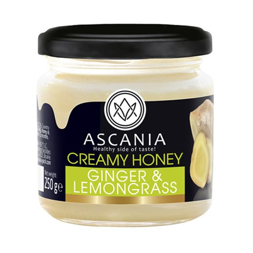 Creamy honey with GINGER & LEMONGRASS