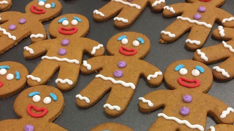 Honey gingerbread cookies