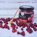 Cranberry cream honey