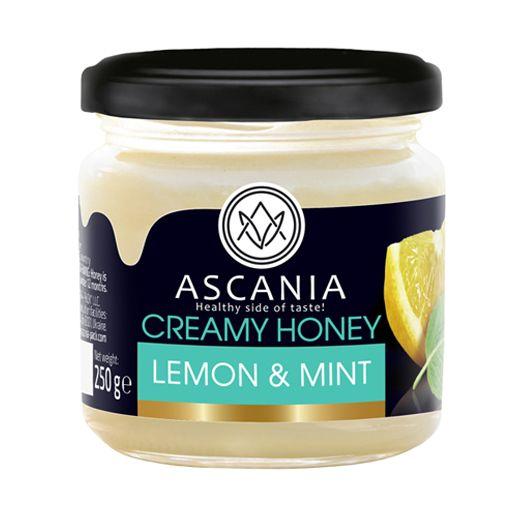 Creamy honey with LEMON & MINT