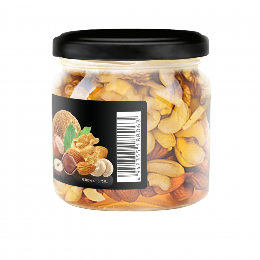 Meadow honey with a mix of nuts