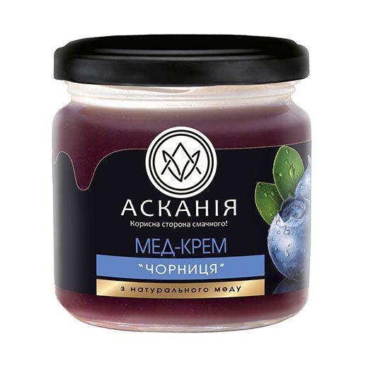 Blueberry cream honey