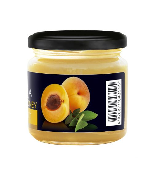Creamy honey with APRICOT