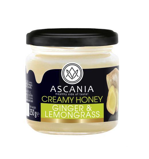 Creamy honey with GINGER & LEMONGRASS