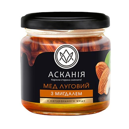 Meadow honey with almond