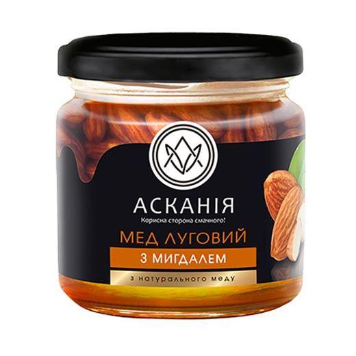 Мед луговой с миндалем