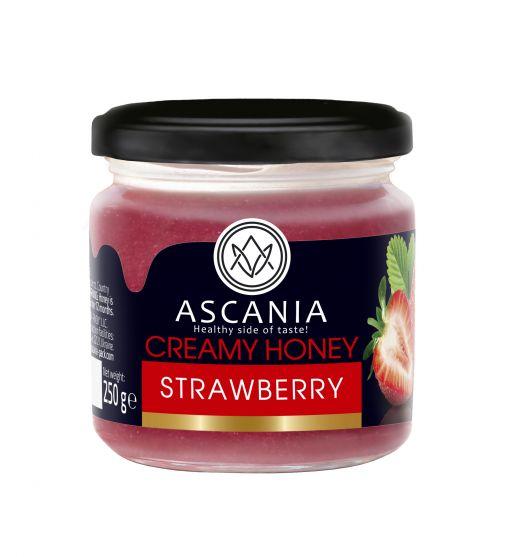 Creamy honey with STRAWBERRY